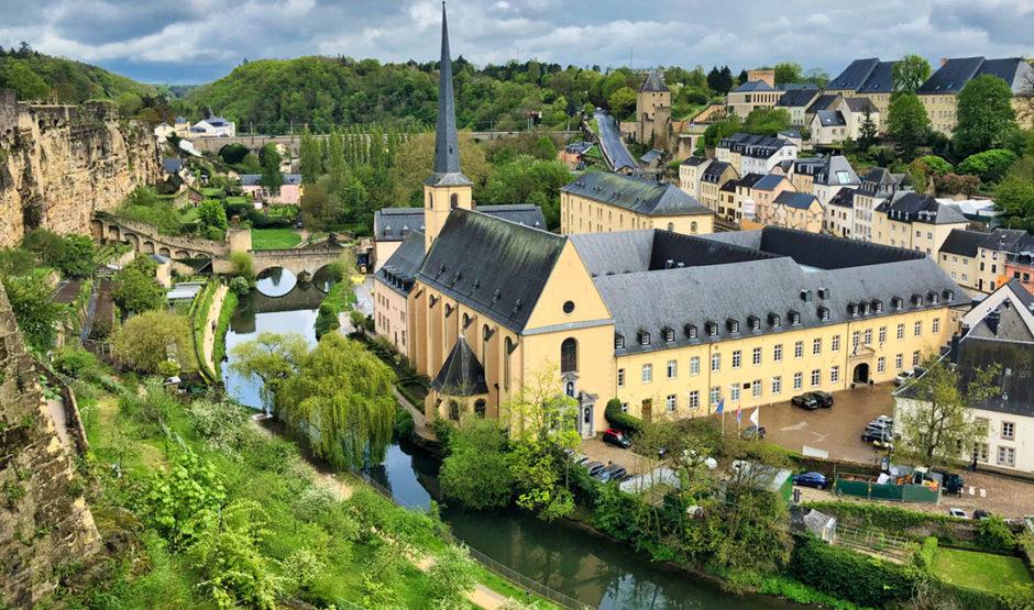 stara dzielnica Luksemburga