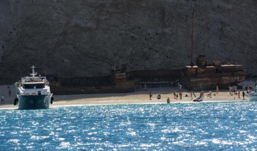 Grecja - Zakynthos - Zatoka Wraku