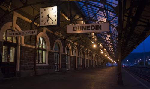 Dworzec w Dunedin