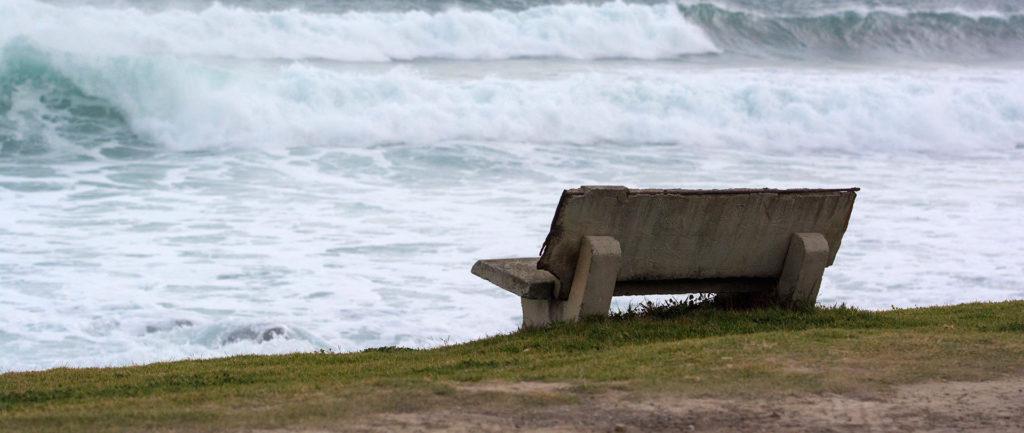 ławka na wild coast South Africa