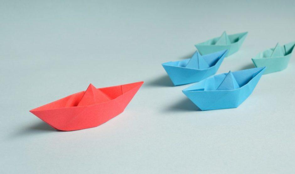 łódki z papieru, poród okiem żeglarza