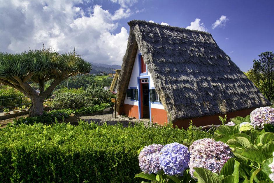 madera tradycyjny dom