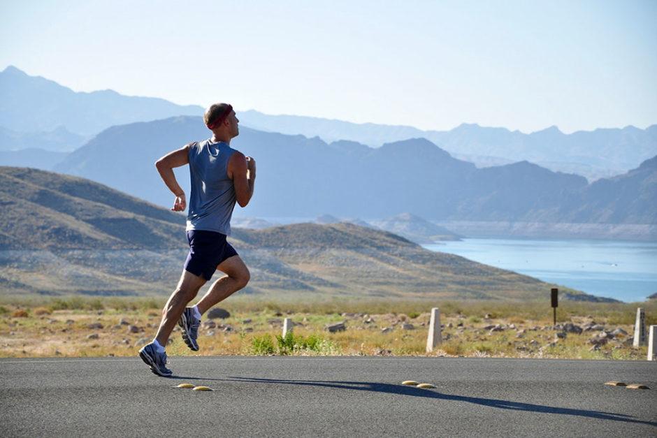 running man biegnący mężczyzna