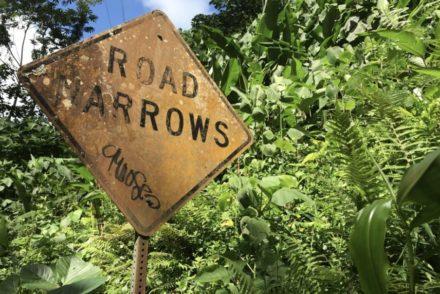 znak drogowy na Hawajach