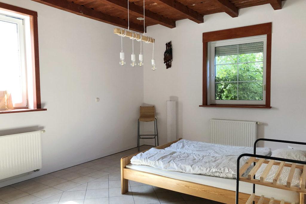 sypialnia w Prądówce