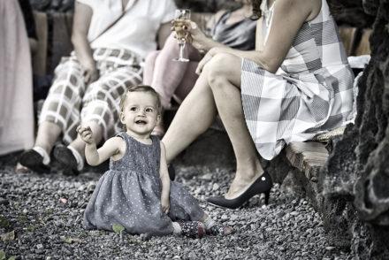 małe dziecko podczas wesela na Lanzarote